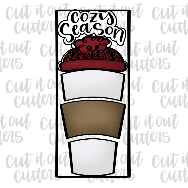 Cozy Season Toppers for the Build A Brew Cookie Cutter Set