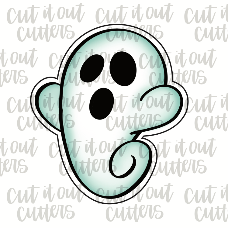 Boo Ghost Cookie Cutter