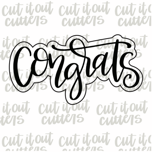 Congrats 2 Cookie Cutter