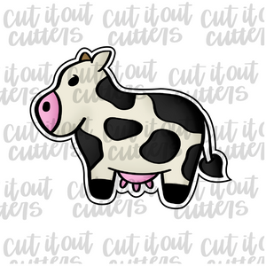 Cow - Full Body Cookie Cutter