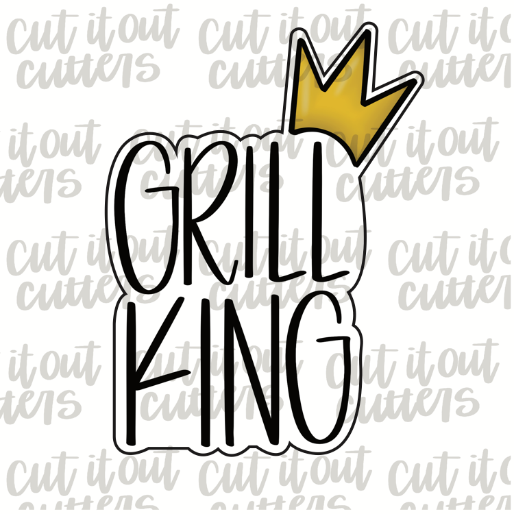 Grill King Cookie Cutter