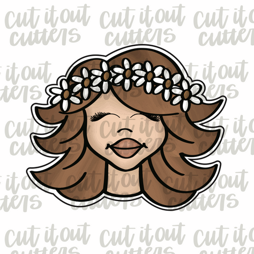 Groovy Girl - Sunny - Cookie Cutter
