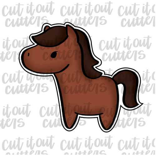 Horse - Full Body Cookie Cutter