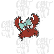 Load image into Gallery viewer, Lady Crab Cookie Cutter