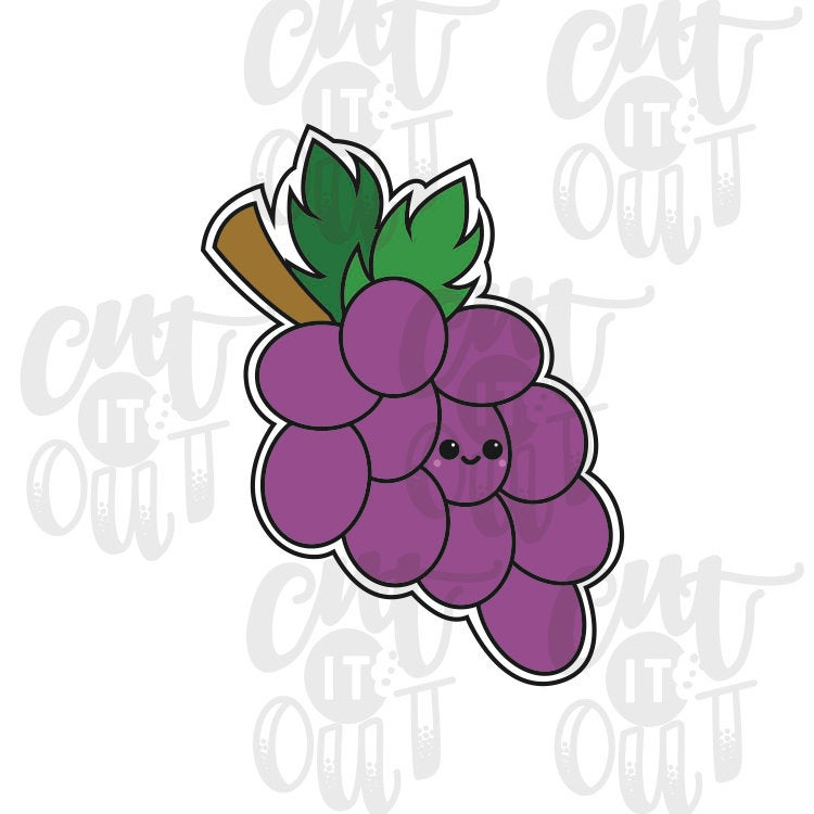 Bunch Of Grapes Cookie Cutter