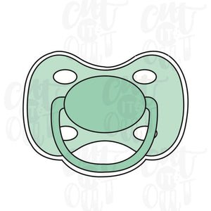 Pacifier Cookie Cutter