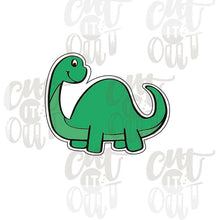 Load image into Gallery viewer, Brontosaurus Cookie Cutter