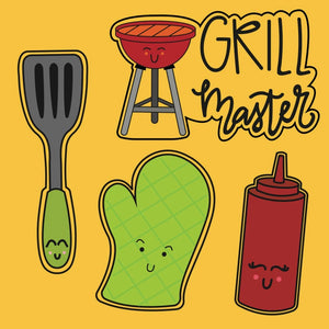 Grilling Cookie Cutter Set