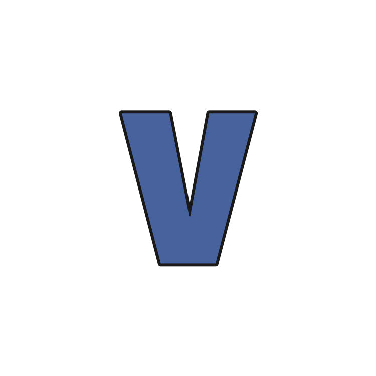 Block Letter Lowercase v Cookie Cutter