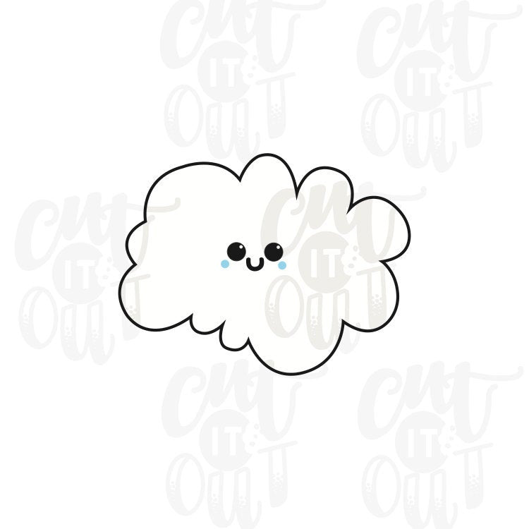 Cutie Cloud Cookie Cutter