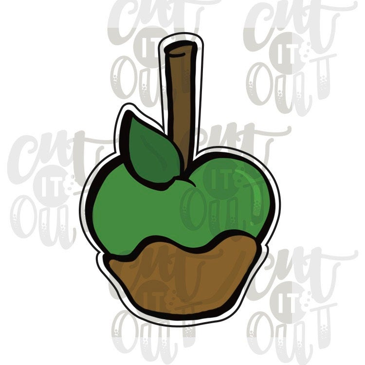 Caramel Apple Cookie Cutter