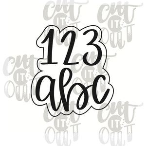 123/ABC Cookie Cutter