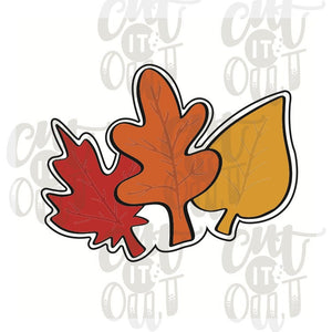 Fall Leaves Cookie Cutter