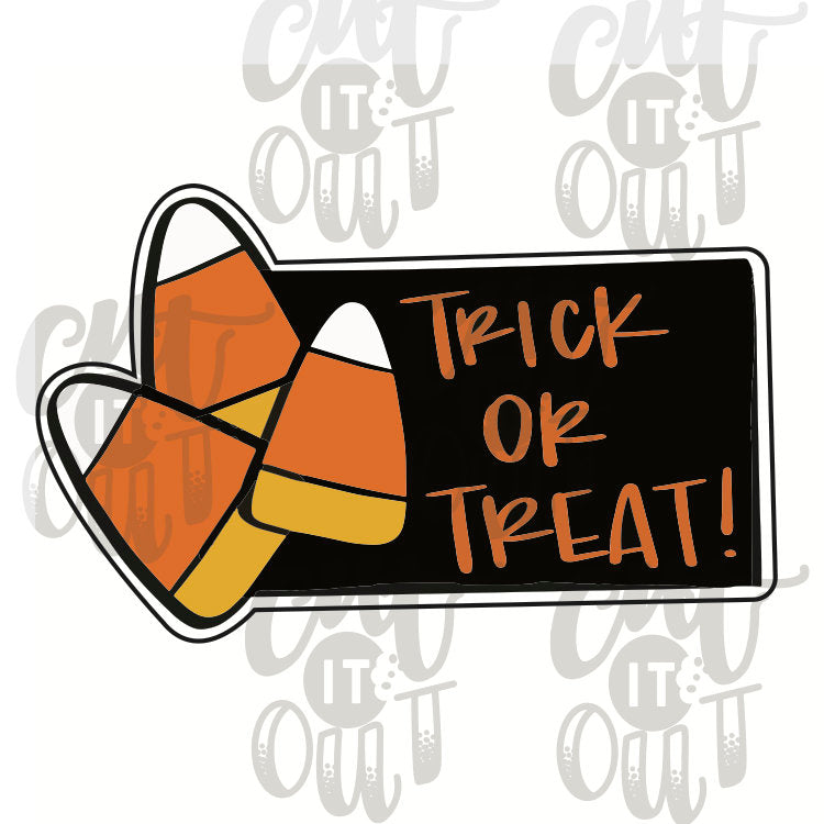 Candy Corn Plaque Cookie Cutter