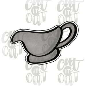 Gravy Boat Cookie Cutter