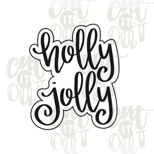 Holly Jolly Cookie Cutter