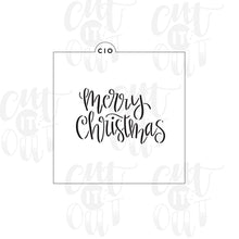 Load image into Gallery viewer, Merry Christmas Cookie Stencil