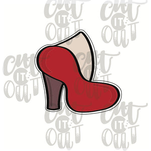Miss Doughmestic High Heel Cookie Cutter