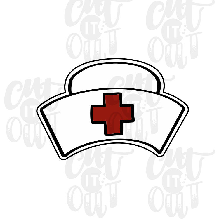 Nurses Cap Cookie Cutter