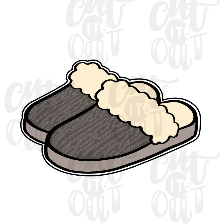 Slippers Cookie Cutter