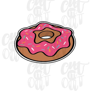 Donut (Side View) Cookie Cutter