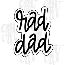 Load image into Gallery viewer, Rad Dad Cookie Cutter