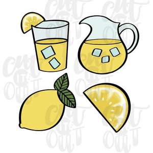 Lemonade Cookie Cutter Set