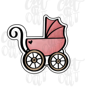 Baby Stroller Cookie Cutter