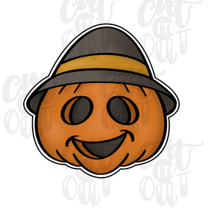 Scarecrow Pumpkin Cookie Cutter