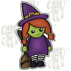 Kid Witch Costume Cookie Cutter