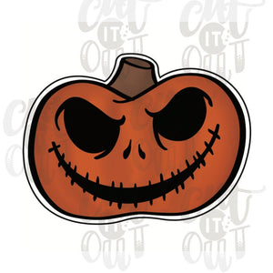 Spooky Pumpkin Cookie Cutter