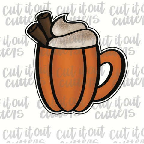 Cozy Fall Mug Cookie Cutter
