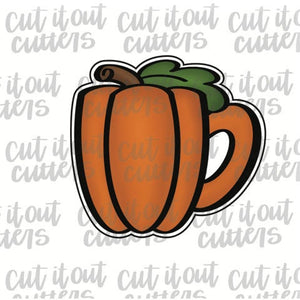 Pumpkin Coffee Mug Cookie Cutter