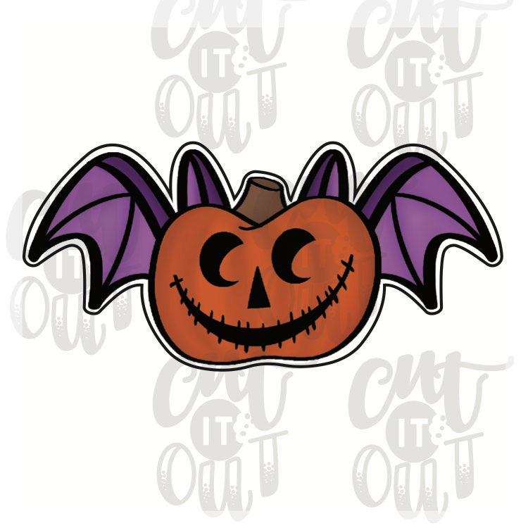 Pumpkin Bat Cookie Cutter