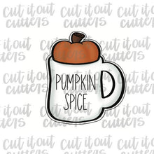 Load image into Gallery viewer, Pumpkin/Apple Mug Cookie Cutter