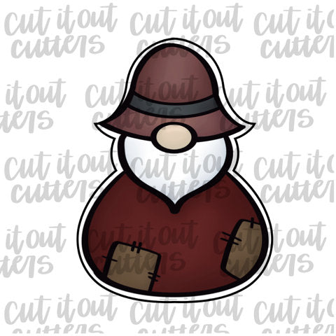 Chubby Gnome Cookie Cutter