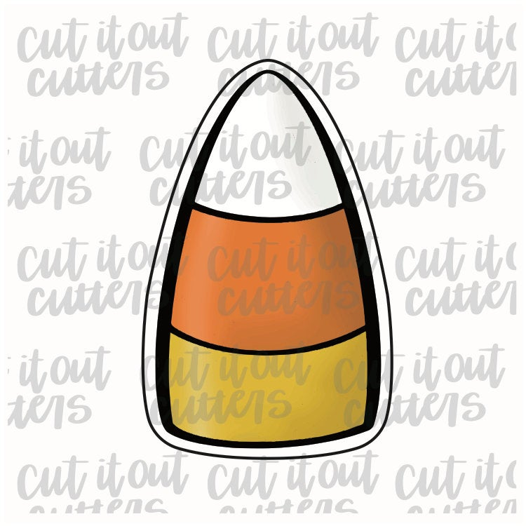 Candy Corn Cookie Stick Cookie Cutter