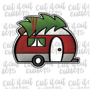 Christmas Camper Cookie Cutter