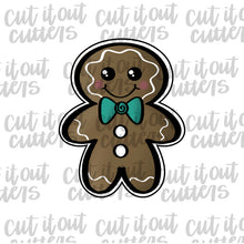 Load image into Gallery viewer, Chubby Gingerboy Cookie Cutter