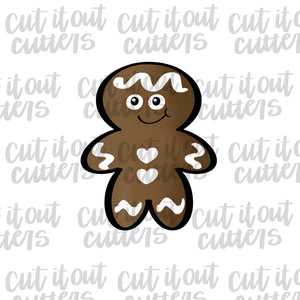 Chubby Gingerboy Cookie Cutter
