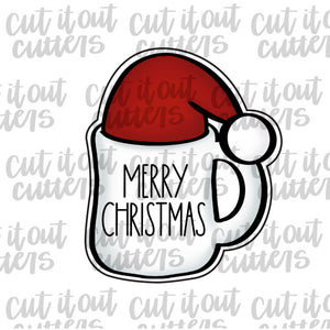 Santa Chubby Mug Cookie Cutter