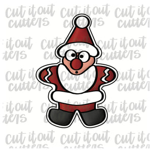 Santa Cookie Cooke Cutter