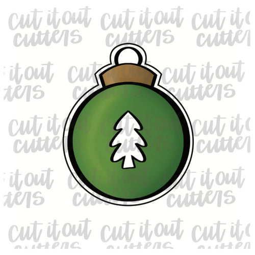 Tree Ornament Cookie Cutter