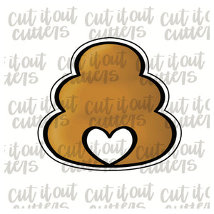 Love Beehive Cookie Cutter