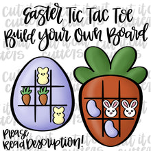 Load image into Gallery viewer, Build Your Own Easter Tic Tac Toe Cookie Cutter Set