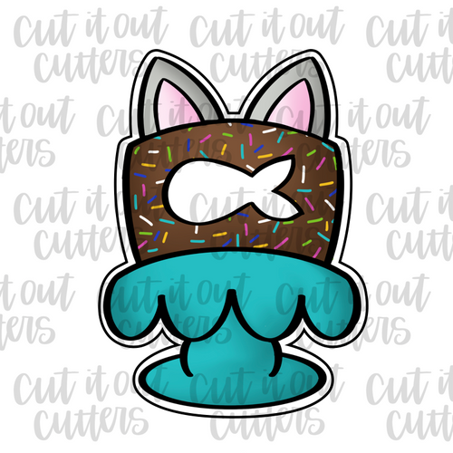 Kitty Cake Cookie Cutter