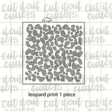 Load image into Gallery viewer, Leopard Print Cookie Stencil