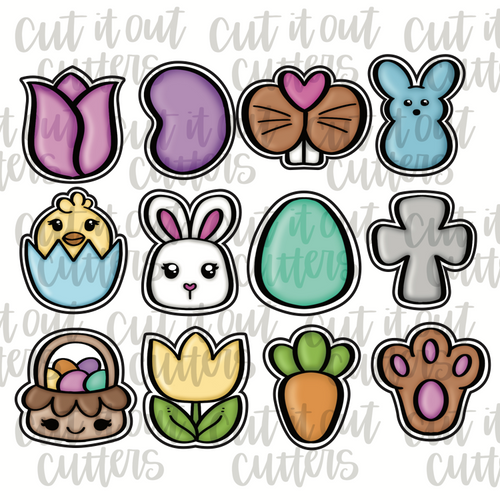 Easter Minis Cookie Cutter Set