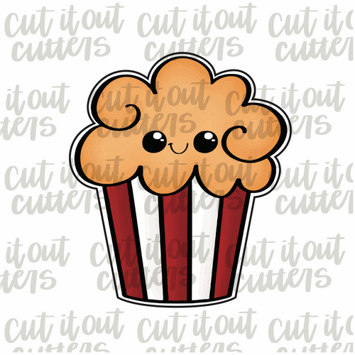 Movie Popcorn Cookie Cutter