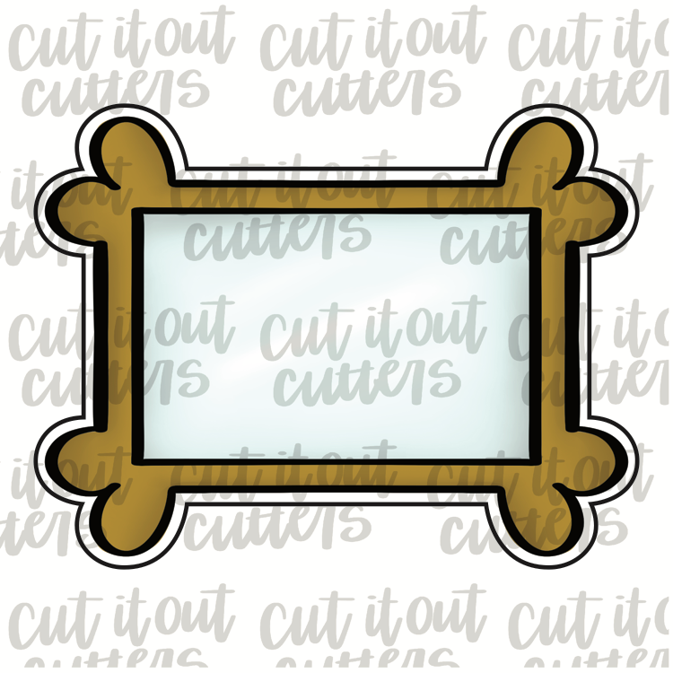 Picture Frame Cookie Cutter